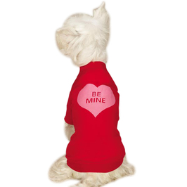 Be Mine Big Dog Valentine Shirt