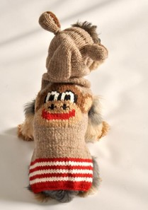 Monkey Dog Sweater Costume
