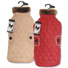 Elements Derby Quilted Big Dog Coat
