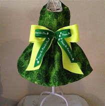 St. Patrick's Day Small Dog Clothes