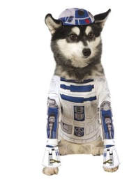 R2 D2 Star Wars Dog Costume